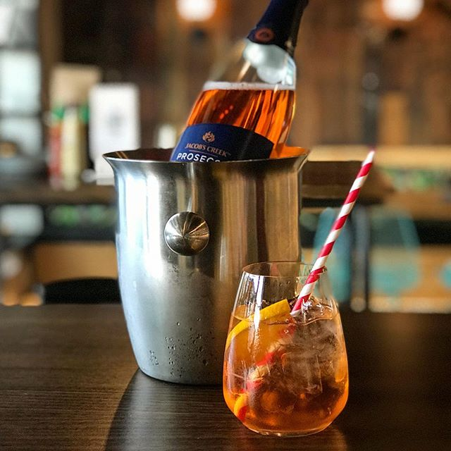 "Because Aperol Spritz is so last year! Ladies and Gents meet your new go to drinks for this summer the ""Prosecco Spritz"" guaranteed good times ✌️🥂 . . . . #proseccospritz #prosecco #summer #summertime #cocktails #drinks #adultbeverage #celebration #goodtimes #itstheweekend #goodvibes #goodvibesonly #banhmicaphe #banhmicaphenz #hamiltonwaikato #hamiltonnz #neatplaces #neatplaceshamilton #neatplacesnz #hamiltoneats #newzealandeats"