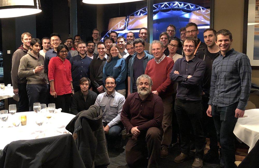 2019 APS MM Qulab group dinner reunion
