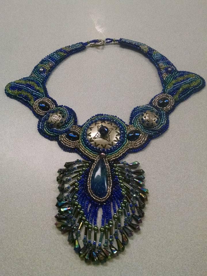 beaded collar necklace Copper Moon.jpg