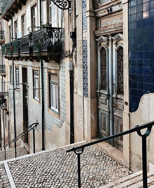 Endlessly inspired by the streets of Lisbon! #home #portugal #lisbon