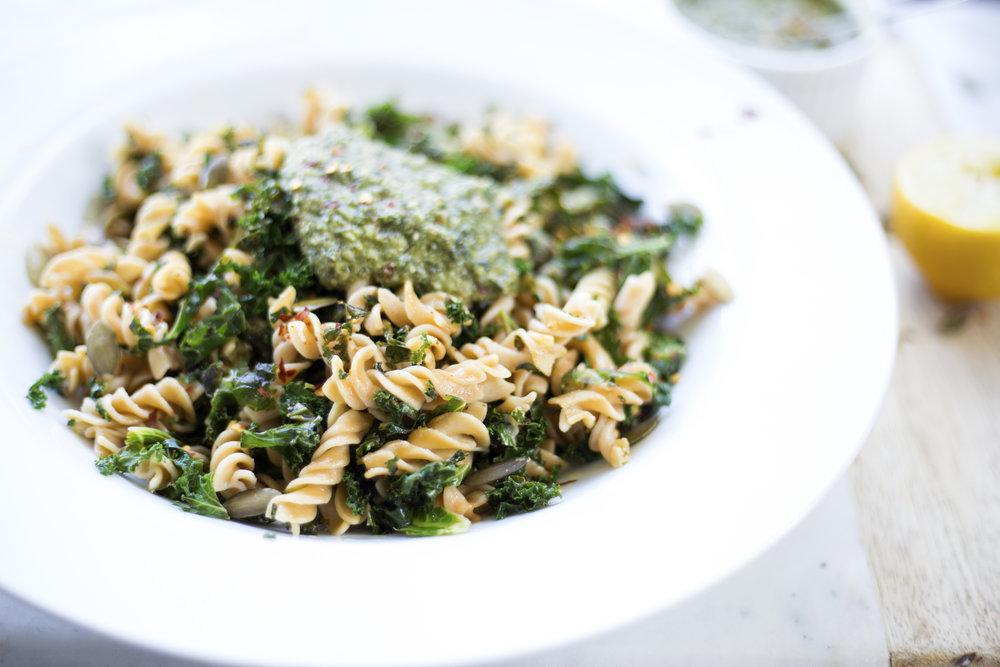 healthy, high protein, gluten free pasta recipe
