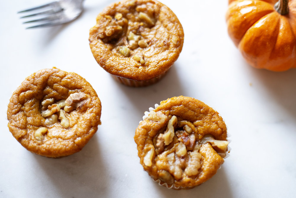 The easiest healthy paleo pumpkin muffins