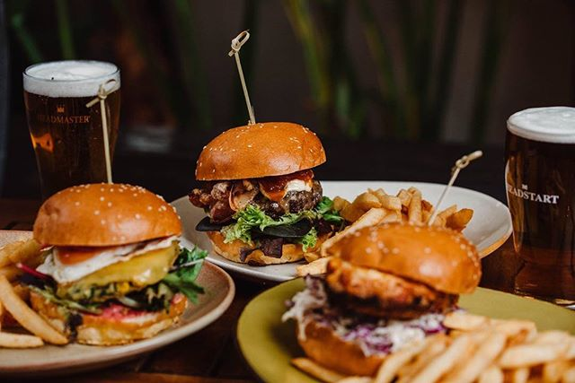Burger anyone? We have all day dining in our Beer Garden every weekend!