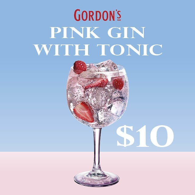 Join us for a pink gin cocktail this weekend!