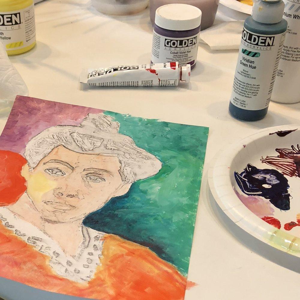 the Palette of Matisse - color study workshop @https://currentsgallery.comSaturday Sept 29  $95