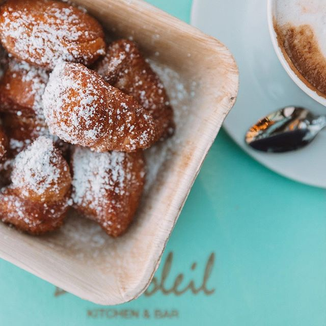 ☀️ There's always room for dessert... especially housemade beignets! #BeauSoleil