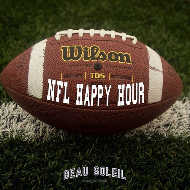 We run our Happy Hour through the entirety of the game... $5 Well Cocktails $5 House Wines $5 Draft Beer $7 Burger $7 Margherita Flatbread. $10 For 12 Wings  Get your Sunday going with US!!! #sundayfunday #pacificcity #football #nflsunday #beer #wings