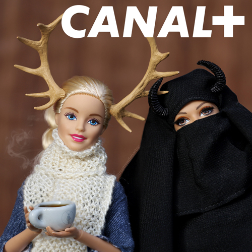 Trophy Wife Barbie CANAL+