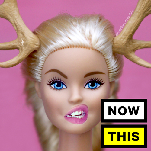 Trophy Wife Barbie NOW THIS