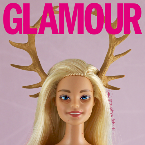Trophy Wife Barbie GLAMOUR
