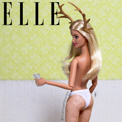 Trophy Wife Barbie ELLE