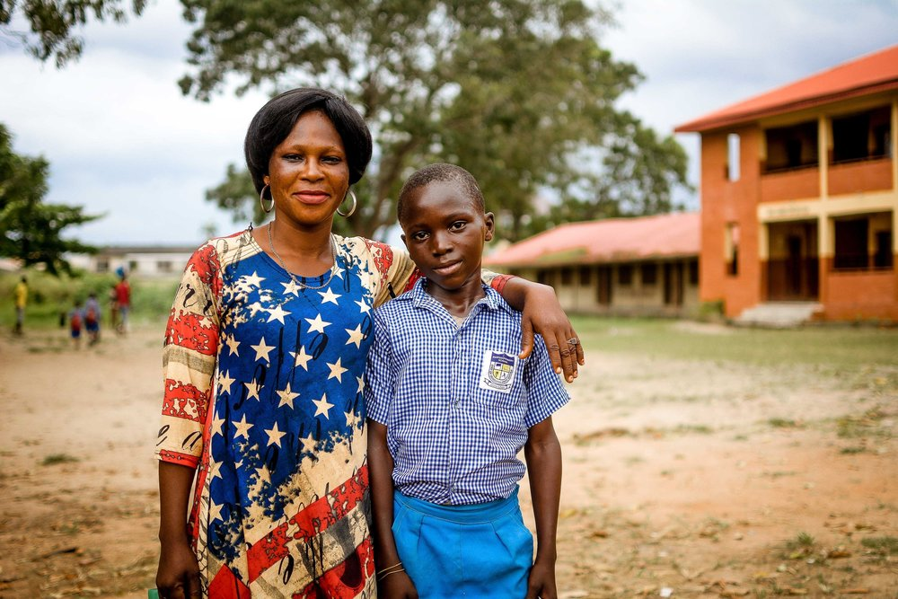 Big Give: Completion Report - Your generosity has helped provide life's most basic need to children in Bariga, Lagos Nigeria. Now see the impact of your contribution.