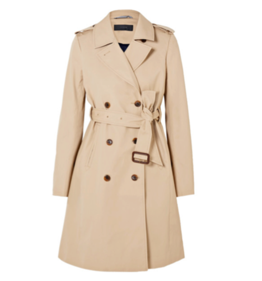 1. TRENCH - J  Crew Classic Trench