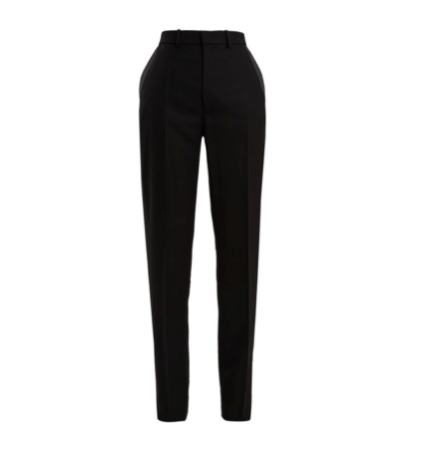 6. BLACK PANT -  Joseph Straight Leg (matches blazer)
