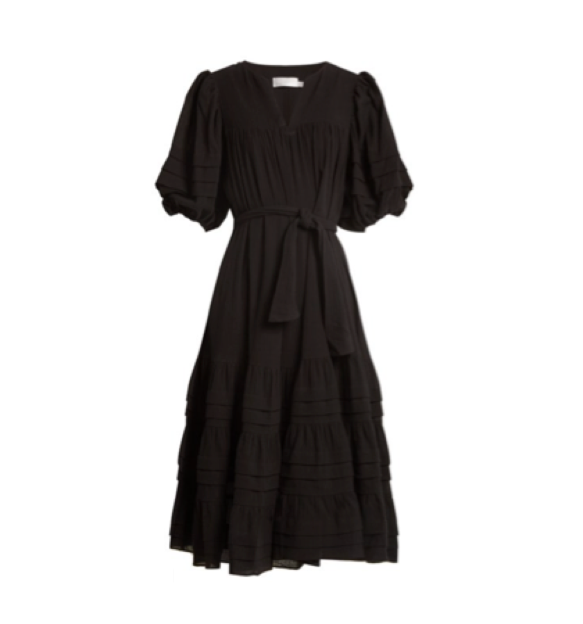 4. BLACK DRESS -  Zimmermann Prima Dress