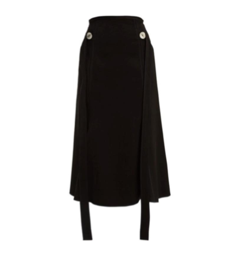 12. BLACK SKIRT -  Ellery Crepe Skirt