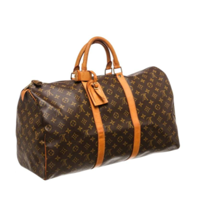 LOUIS VUITTON - Vintage Kepall   Travel chic - save up for one of these as they are a classic.