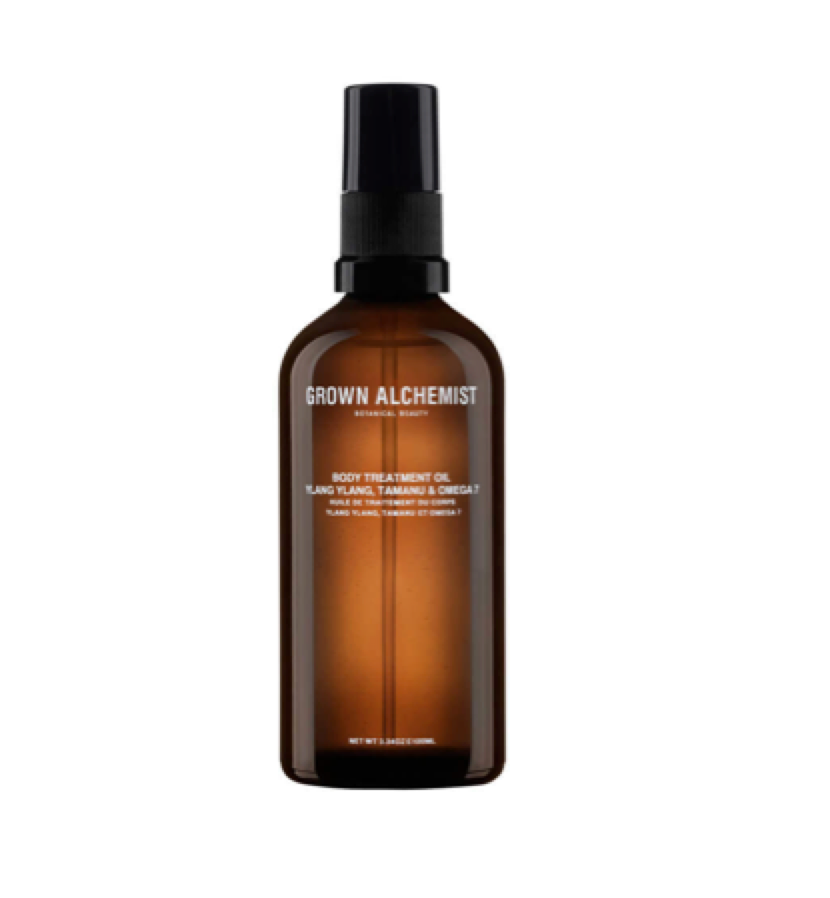GROWN ALCHEMIST -  Body Treatment Oil   Body oils are so hydrating I now use instead of moisturisers.