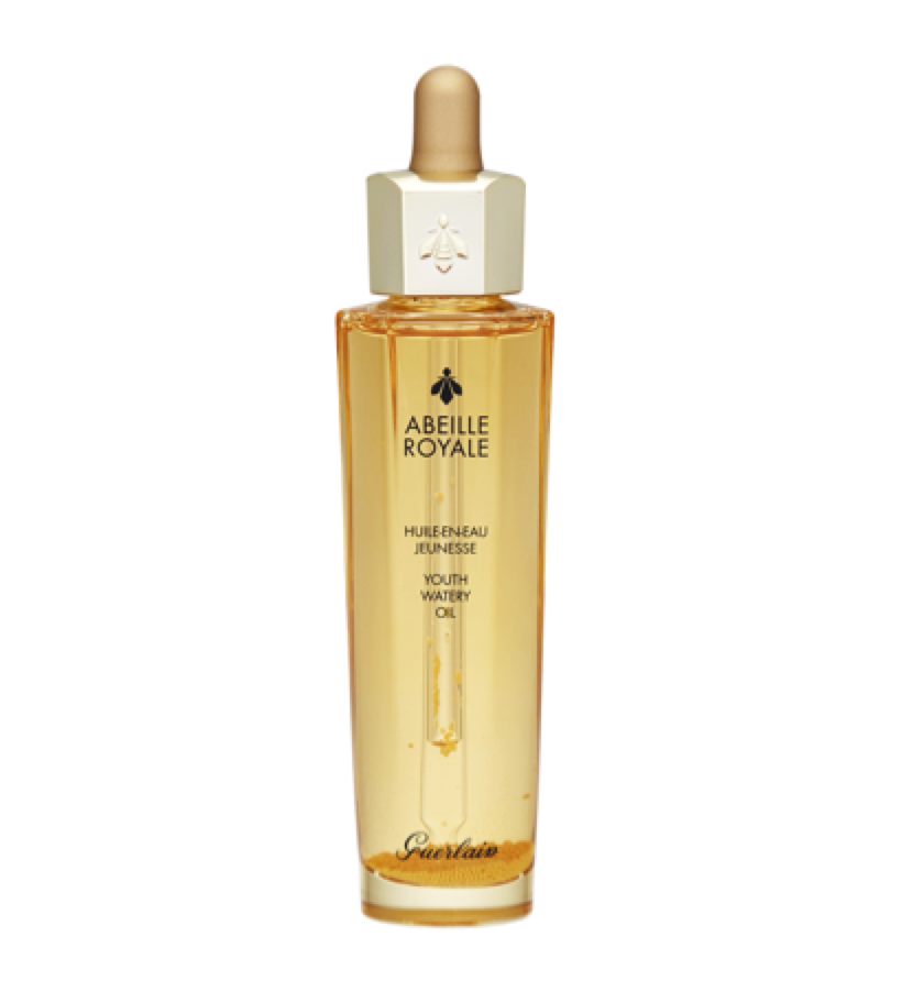 GUERLAIN ABEILLE ROYALE -  Youth Oil   This oil makes your skin feel smooth and plump - love!