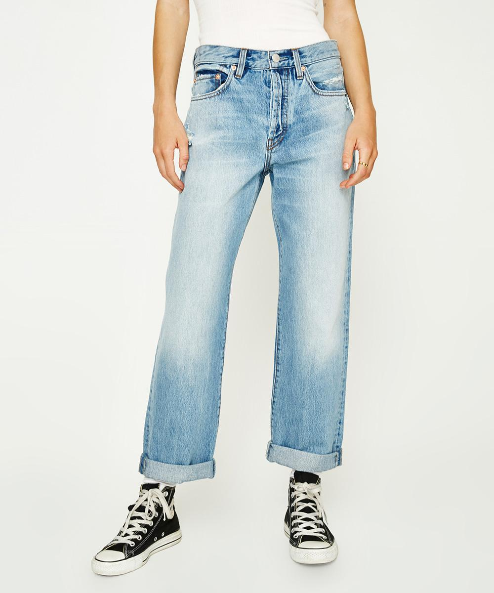 Free People - good boyfriend jean, great colour