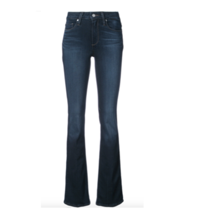 PAIGE -  Skinny bootleg jean    I'm not normally a boot leg fan but these jeans make your legs look great! This brands fit is also very very good.