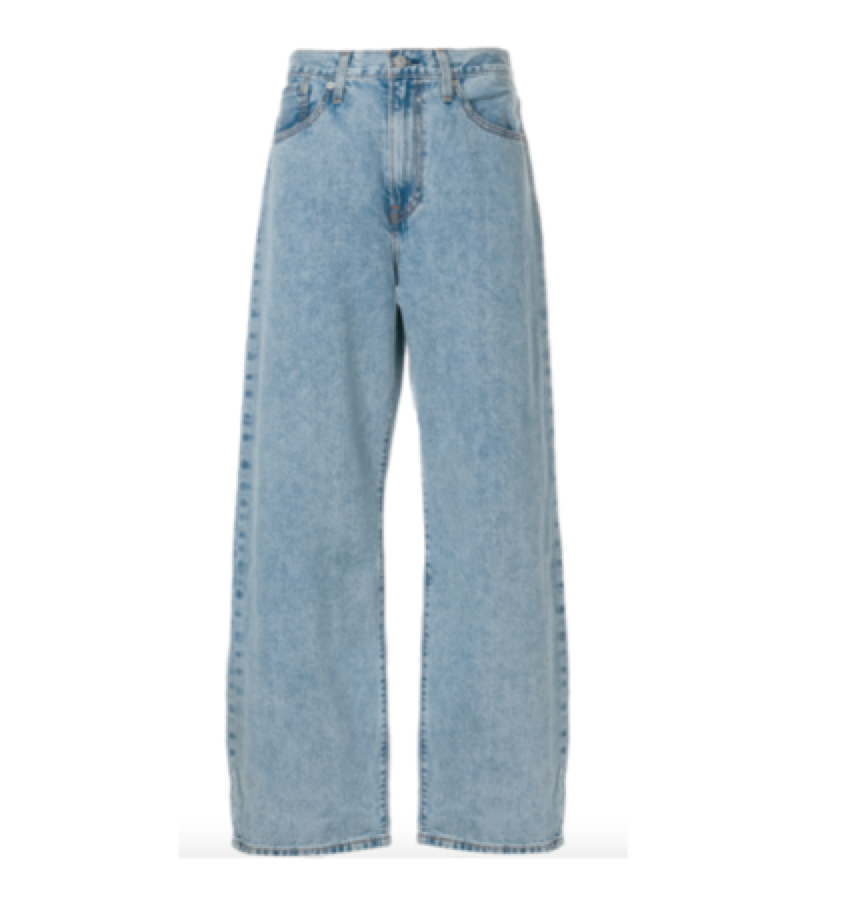 LEVIS -  Boyfriend jean crisp blue    A good slouchy fit without the holes.