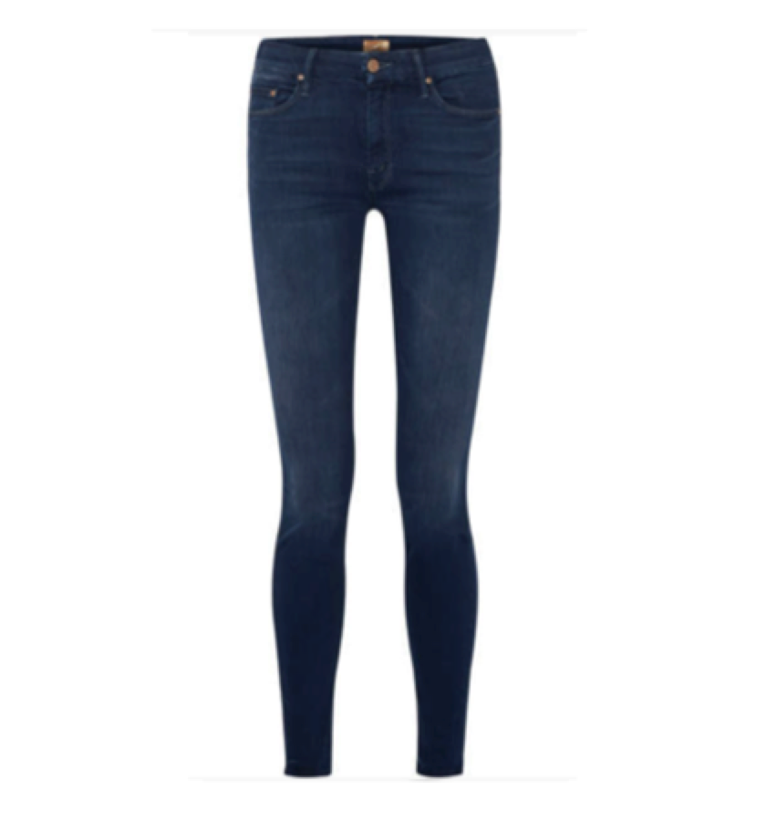 MOTHER -  Mid rise dark skinny jean    For that 'i look hot' fit - these suck everything in!