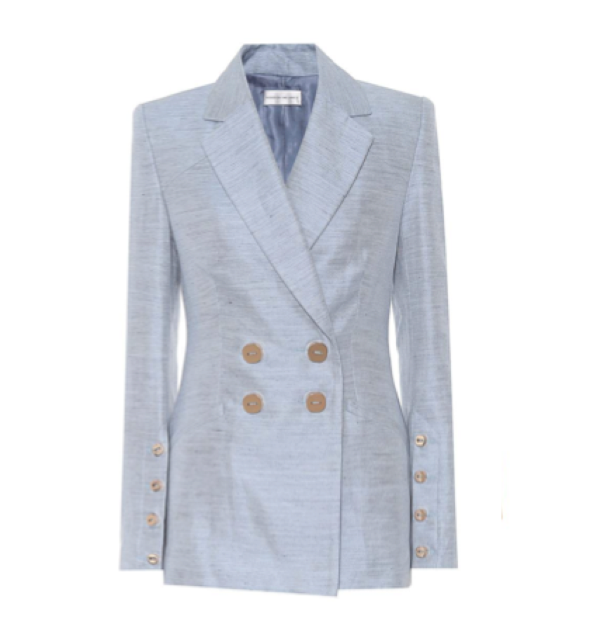 REBECCA VALLANCE -  Baby blue blazer UNDER $900