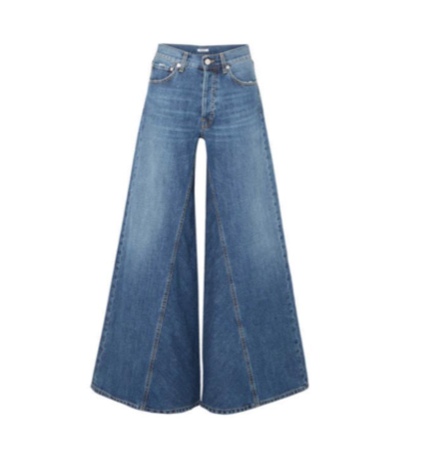 WIDE LEG JEAN / GANNI -  Wide Leg Jean