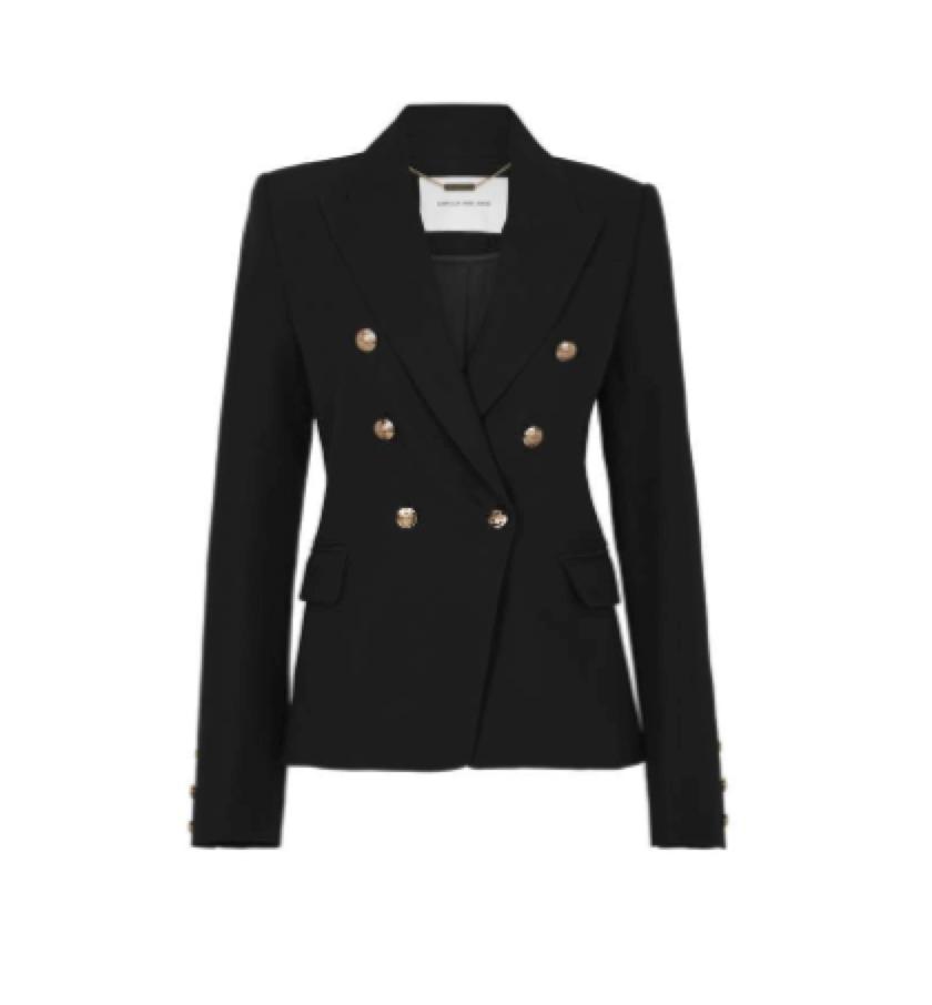 BLACK BLAZER / CAMILLA & MARC -  Classic Blazer