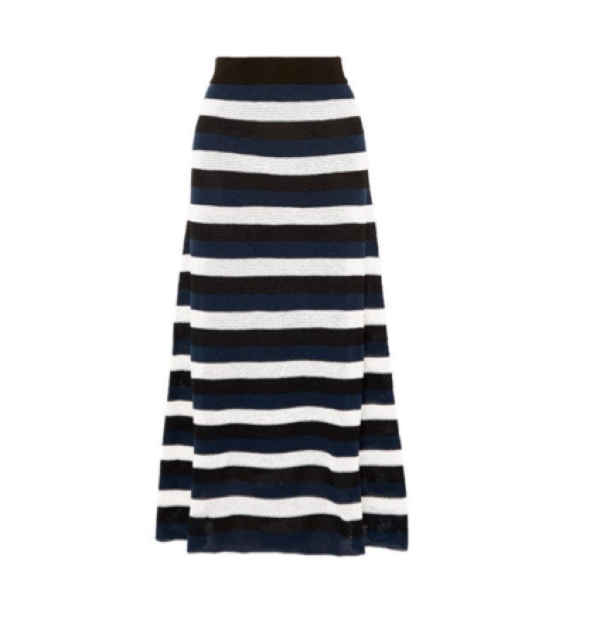 STRIPED SKIRT / SONIA RYKIEL -  Striped Skirt