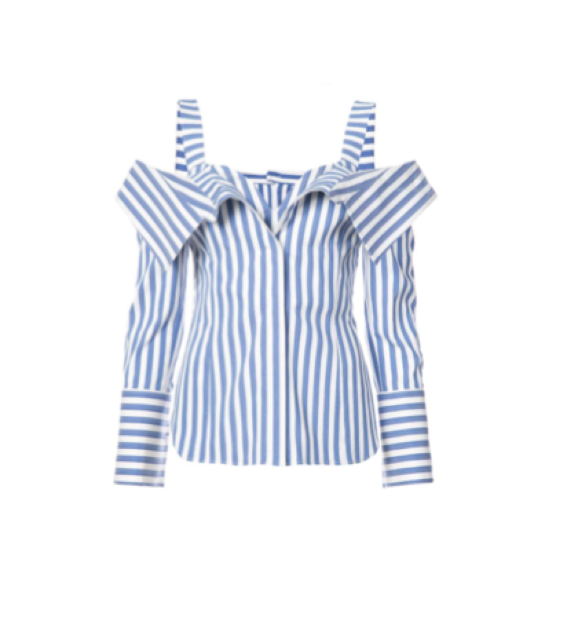 STRIPED SHIRT / MONSE -  Striped Shirt
