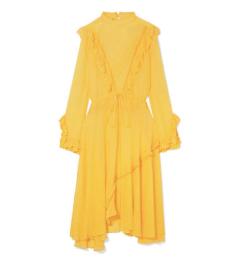 ADD SOME COLOUR / PREEN  - Ruffle Dress