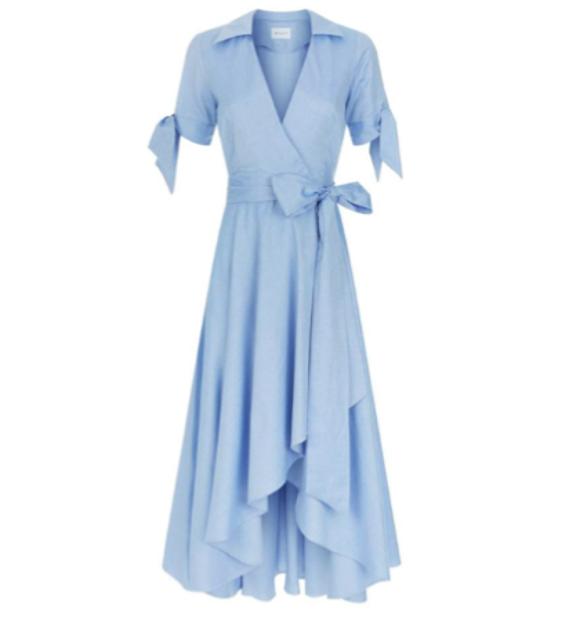 SHIRT DRESS /MILLY -  Wrap Dress