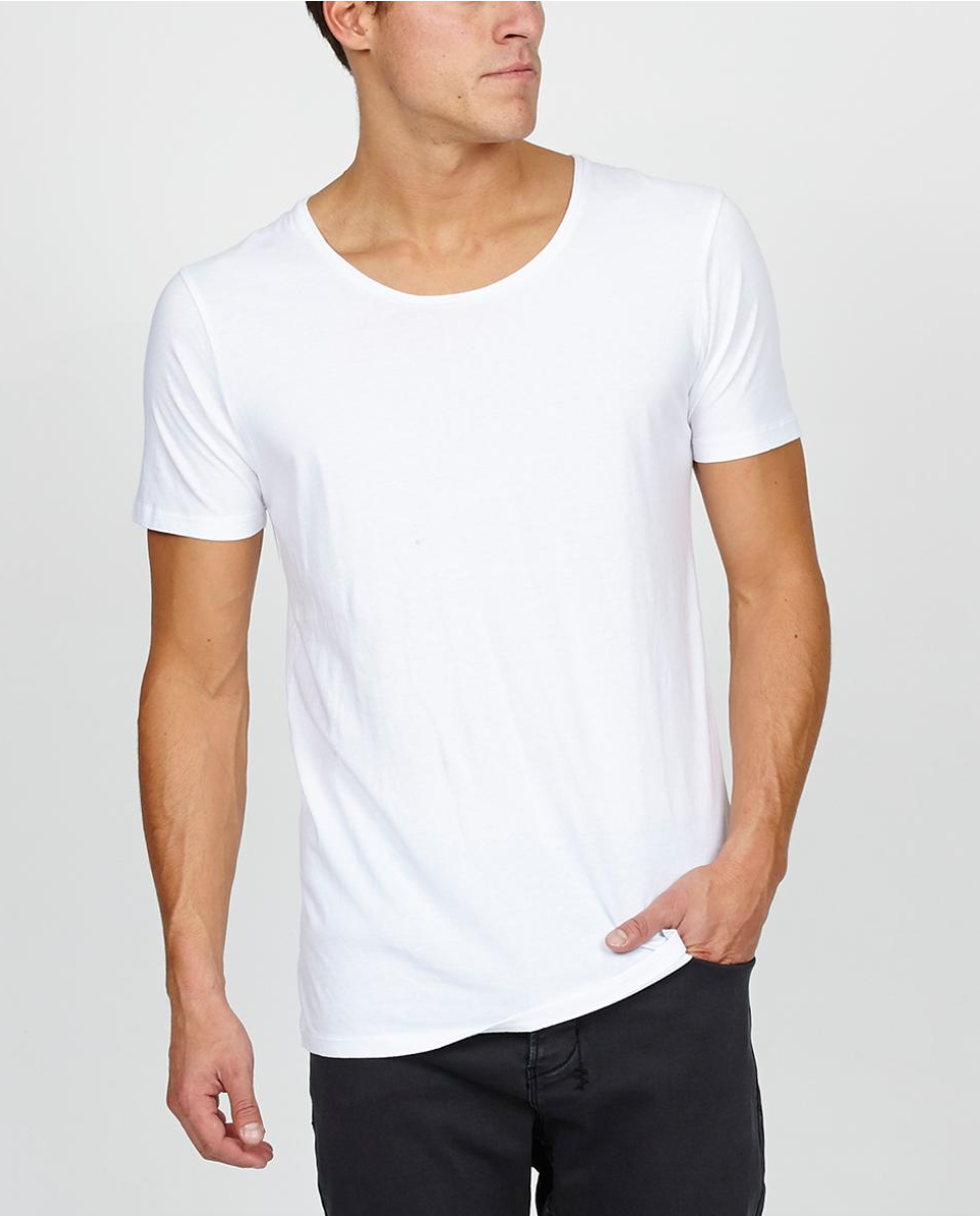 MENS SCOOP NECK - GPG