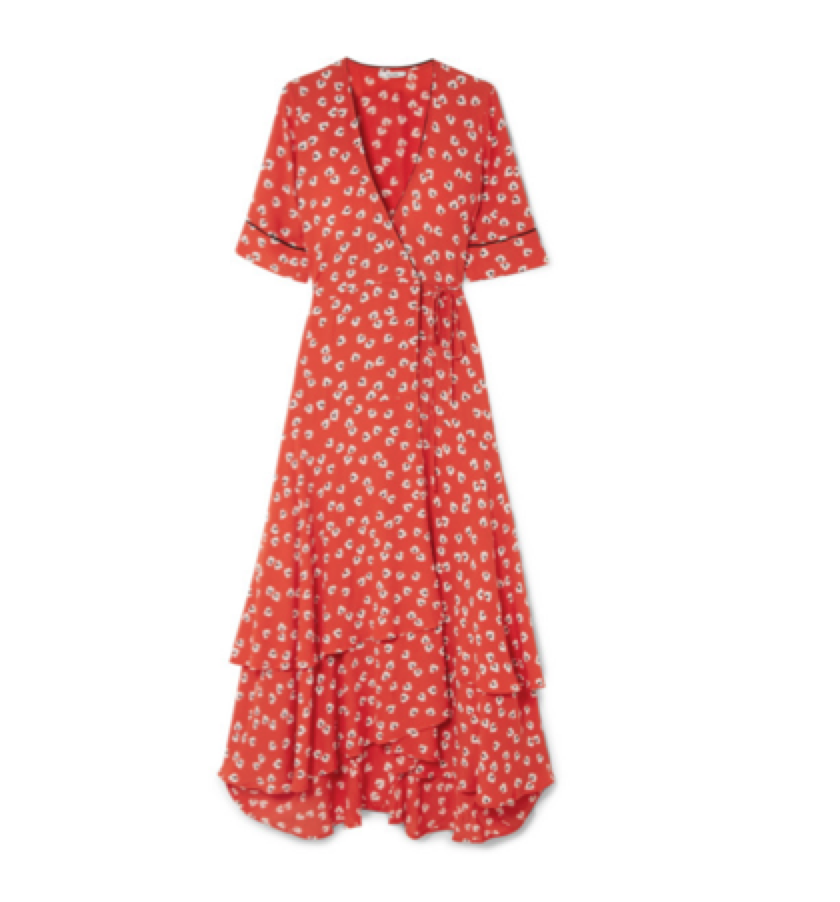 THE WRAP DRESS -  Ganni