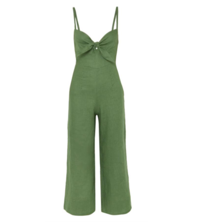 FAITHFUL THE BRAND -  linen jumpsuit