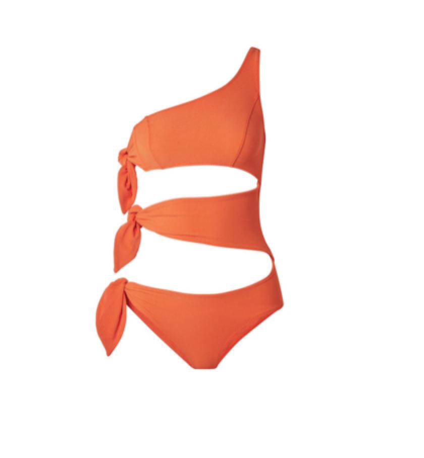 LISA MARIE-FERNANDEZ -  one-shoulder swimsuit