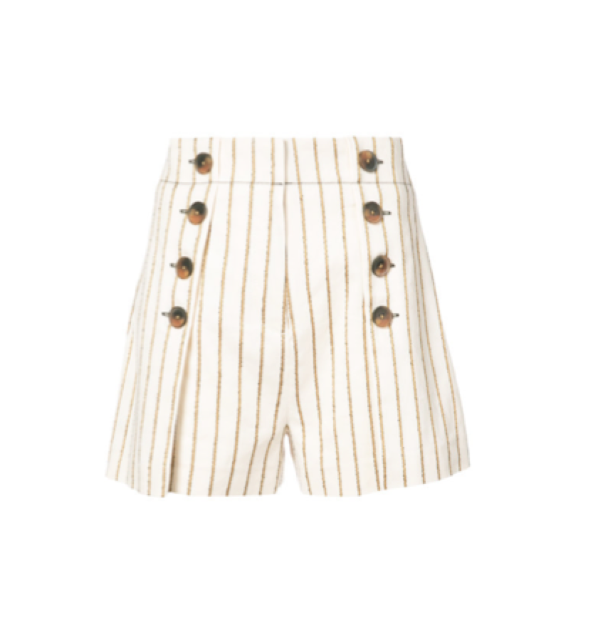 DEREK LAM -  striped sailor shorts