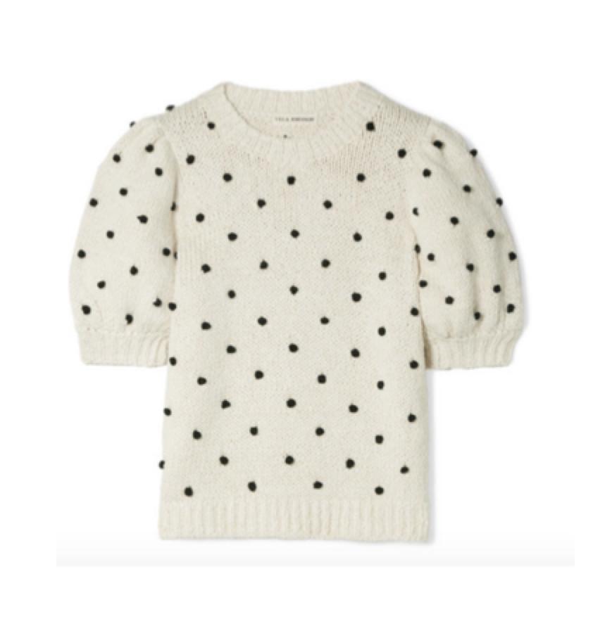 ULLA JOHNSON -  spot knit