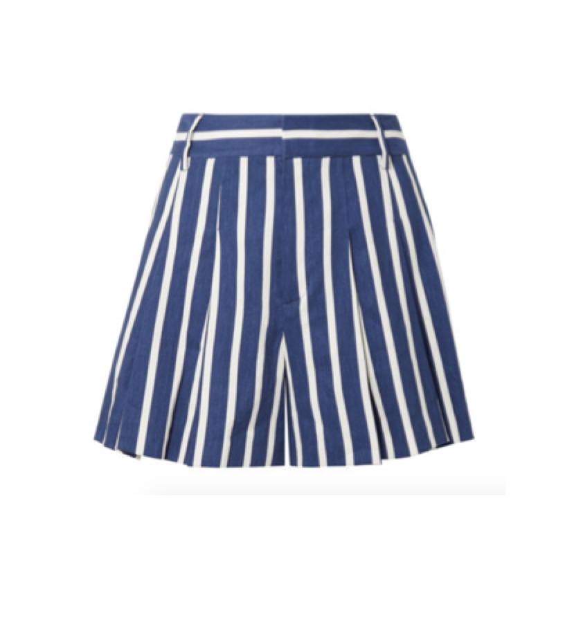 ALICE & OLIVIA -  striped shorts