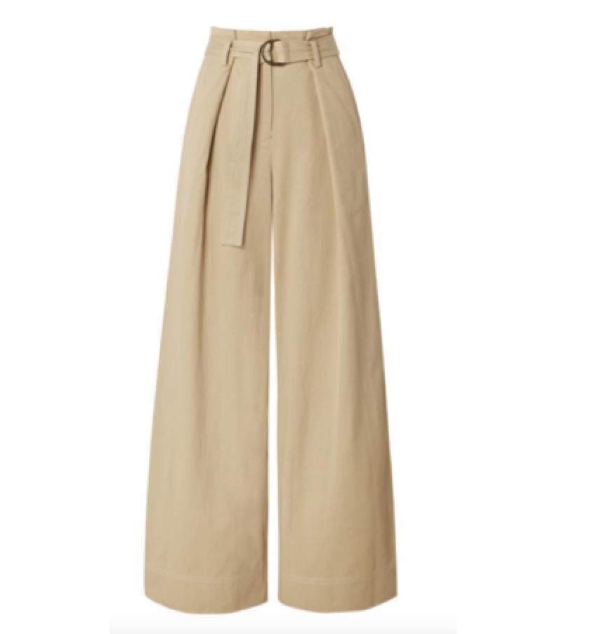 ULLA JOHNSON -  high waisted pants