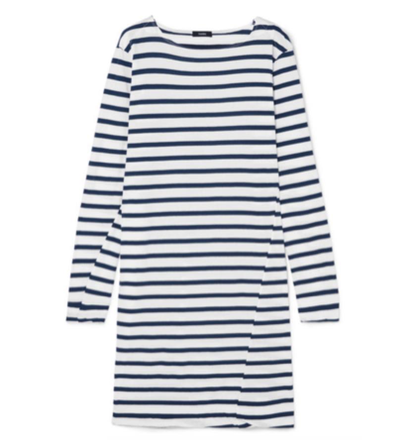 BASSIKE -  striped t-shirt dress