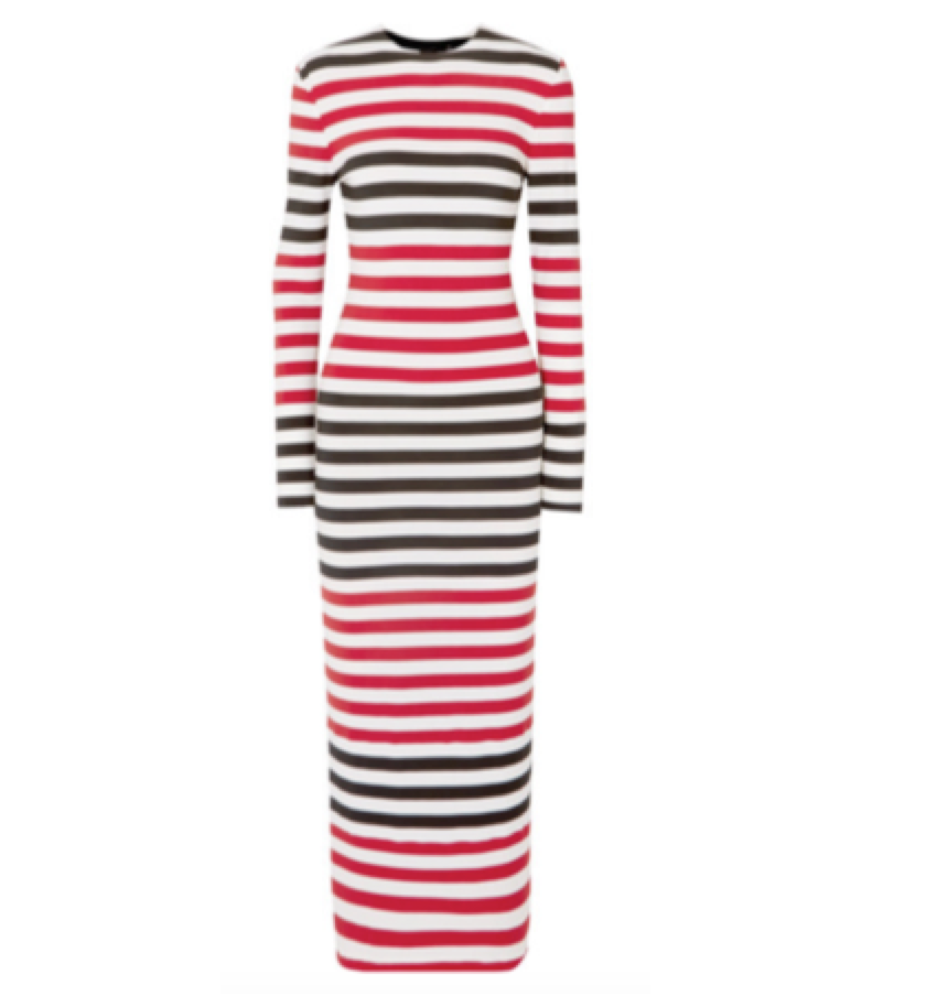 NORMA KAMALI -  striped dress