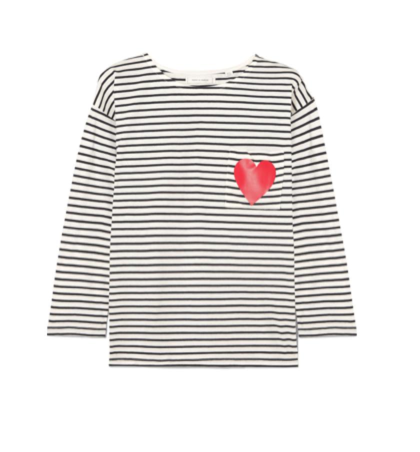 CHINTI & PARKER -  Striped t-shirt