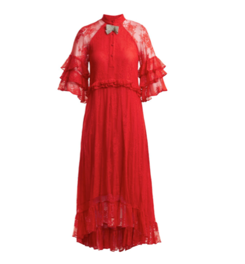 DODO BAR OR -  Lace red dress