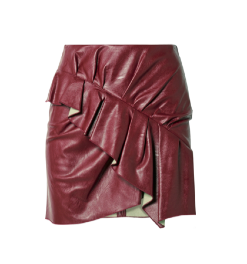 ISABEL MARANT ETOILE -  Ruffle skirt