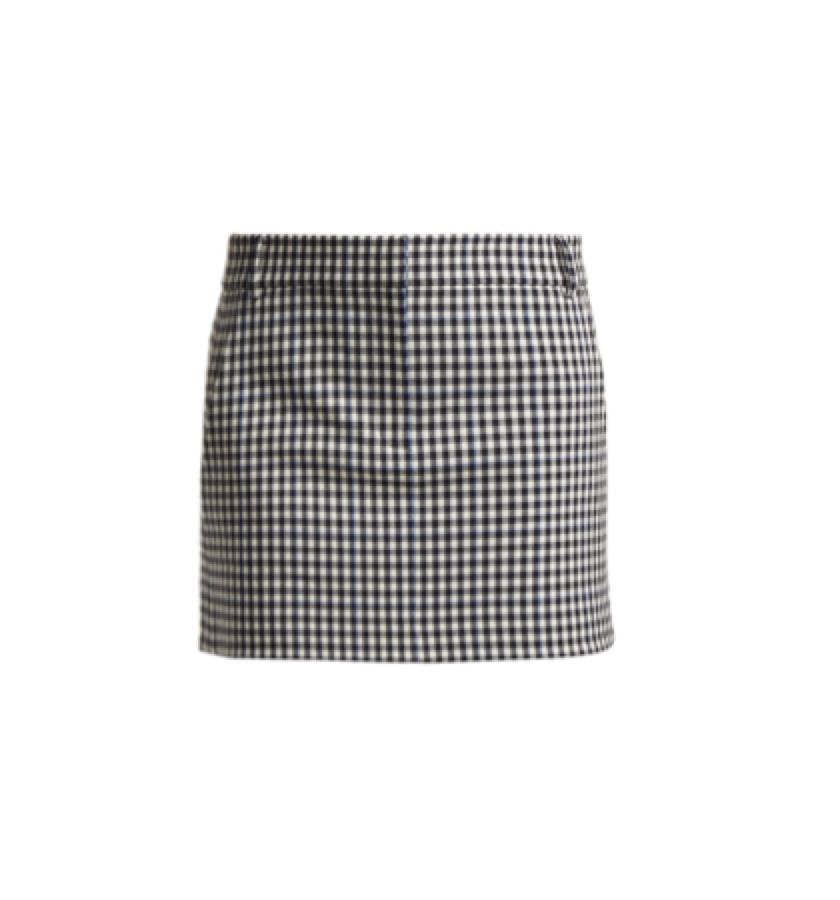 TIBI -  Gingham skirt