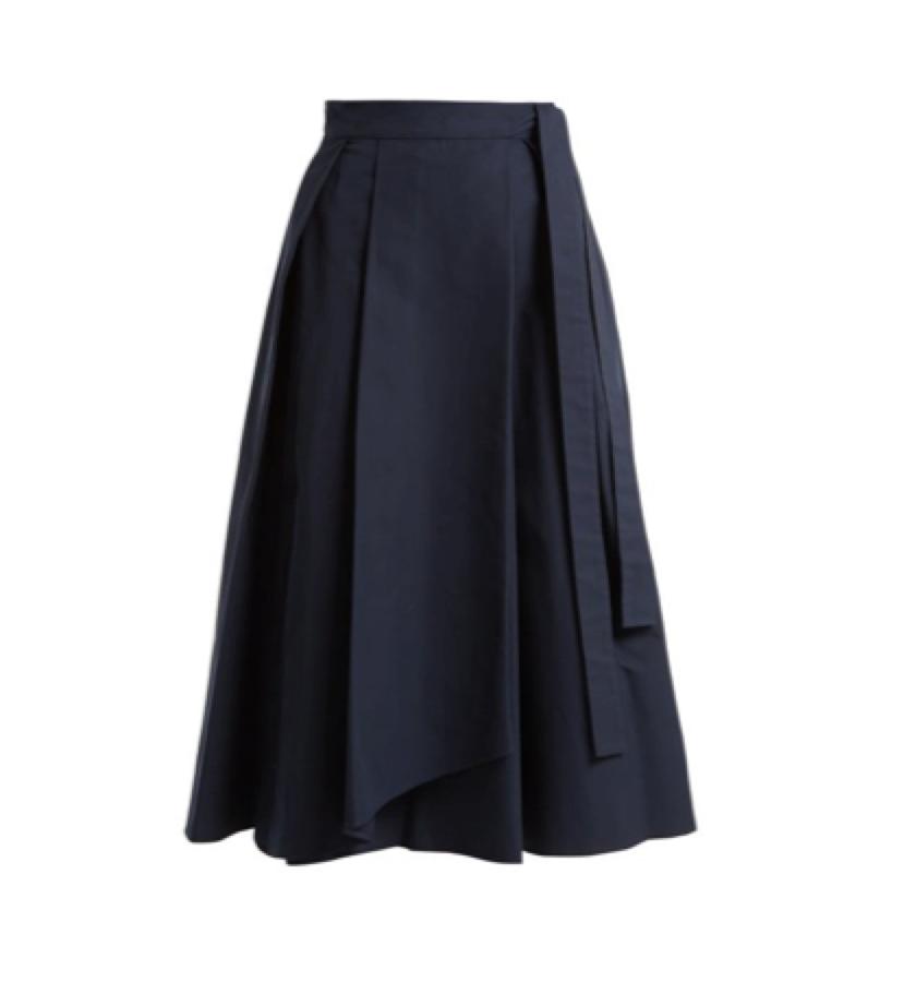 MAX MARA WEEKEND -  Navy skirt