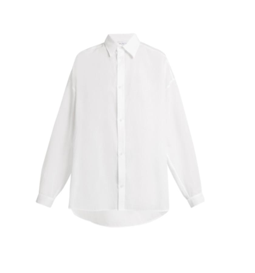 RAEY -  Classic white shirt